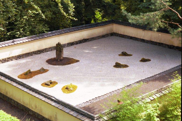 Photos of japanese gardens 8 24 97 for Japanese sand garden